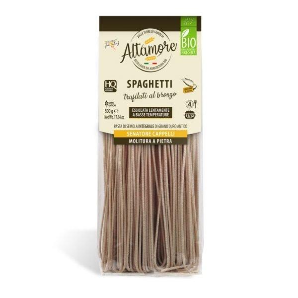 spaghetti pasta ricca di fibre essiccata a basse temperature trafilata al bronzo alta digeribilità